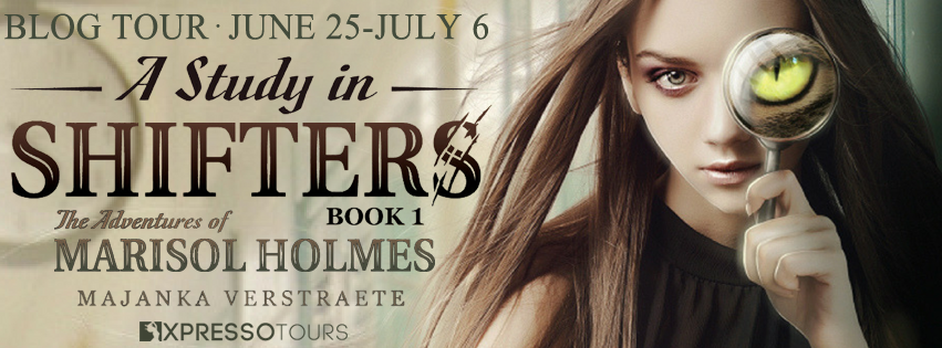 A Study In Shifters by Majanka Verstraete – Excerpt and Giveaway