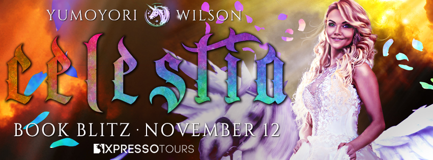 book tour new release Celestia by Yumoyori Wilson book blitz with giveaway